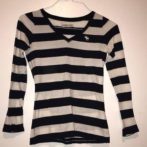 Abercrombie striped shirt
